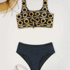 Бански костюм Happy Sunflowers