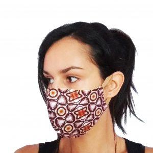 Текстилна предпазна маска с принт Sand
