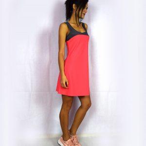 Спортна рокля с платка